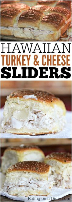 These quick and easy turkey sliders are the best for feeding a crowd. This Hawaiian Turkey and cheese sliders recipe is our go to recipe for party food.