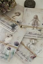 small vintage inspired envelopes to hold tiny notes, treasures, seeds...