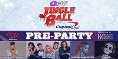 2016 Jingle Ball pre-show at the Wells Fargo Center, Philadelphia, Dec. 7, 2016