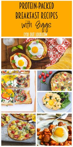Delicious Breakfast Recipes with Eggs! These delicious and protein-packed breakfast recipes starring eggs are a great start to any day. They're perfect for brinner too!
