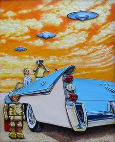 The Amazing Alien Artwork of Dennis Larkin | Alien UFO Sightings