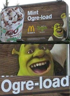 Shrek is love. Shrek is life