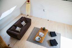 Espace travaille, lieux de vie, atelier, yoga...  PIOKA residence Art et Surf