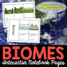 Biomes - Bring your science journal to life with this biomes pull-out activity for interactive notebooks. 10 pages are included (2 are example pages from my personal INB).