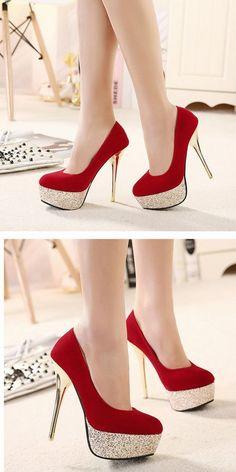 Succomber à la tentation du rouge | talons aiguilles, mode, luxe, chaussures, femme