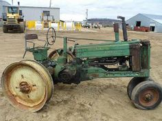 Antique John Deere B tractor salvaged for used parts. Call 877-530-4430. http://www.TractorPartsASAP.com