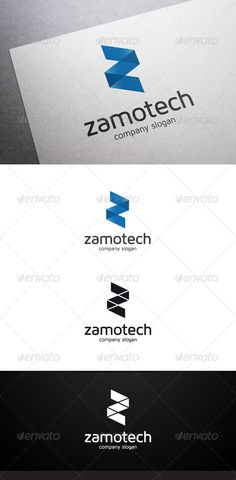 Zamotech Z Letter Logo — Vector EPS #software #blue • Available here → https://graphicriver.net/item/zamotech-z-letter-logo/7023239?ref=pxcr