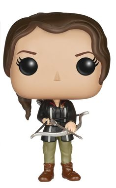 Funko POP Movies – Katniss Everdeen Action Figure The figure stands 3 3/4 Inch and comes in a window display box.