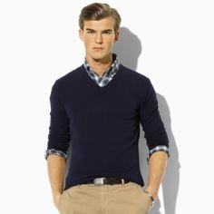 Cashmere V-Neck Sweater - Polo Ralph Lauren Polo Ralph Lauren - RalphLauren.com