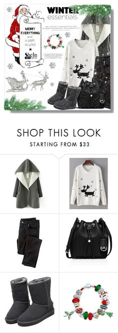 """""""SheIn #3"""" by cherry-bh ❤ liked on Polyvore featuring Wrap, H&M, MICHAEL Michael Kors and Bling Jewelry"""