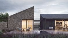 John Pardey Architects' (JPA) design for a million contemporary farmhouse in rural Somerset has won planning permission Modern Architecture House, Residential Architecture, Contemporary Barn, Contemporary Building, Modern Barn House, Rural House, Building A House, House Design, Somerset