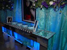 RAMA CERIMONIAL E DECORAÇÕES: 15 Anos Azul Tiffany