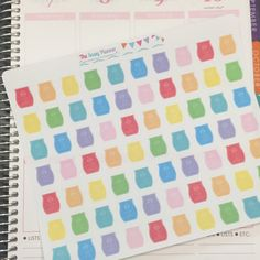 A10 Pastel Scentsy Bars Wax Warmer Stickers - Set of 70