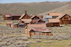 The ghost town of Bodie, California, gets a mention in Flash Point, book 1 of the High Sierra Series.