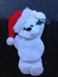 Little bear ornament for my granddaughter. 2014