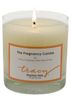 pregnancy candle might be too late to give as a gift at shower though.