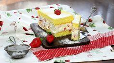Bezlepkový piškotový koláč s ovocem - Novalim