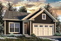 Vacation Cottage - 57310HA | Architectural Designs - House Plans
