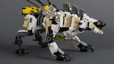Lego Sawtooth from Horizon Zero Dawn