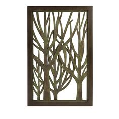 CKI Wooded Wall Decor - Designer Carolyn Kinder adds depth to a wooded scene in the Wooded wall decor piece, great for adding a layered element to walls in lodge style decor. IMAX exclusive!