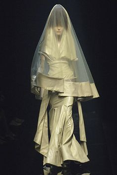 ☫ A Veiled Tale ☫ wedding, artistic and couture veil inspiration - Givenchy