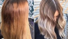 L'Oréal Professionnel Serie Expert Blondifier Cool Shampoo Here's how to fix every type of Balayage Hair Copper, Balayage Hair Caramel, Balayage Ombré, Hair Color Balayage, Hair Colour, Yellow Blonde Hair, Blonde Roots, Dyed Blonde Hair, Hair Dye
