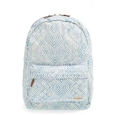Junior Billabong 'Hand Over Love' Backpack ($45) ❤ liked on Polyvore featuring bags, backpacks, denim, billabong, knapsack bags, billabong bag, billabong backpack and backpacks bags