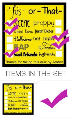 """This or That #?"" by i-hate-you-in-a-gerard-way ❤ liked on Polyvore featuring art"