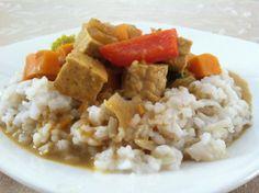 Tempeh Sweet Potato Curry