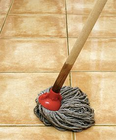 Brighten dingy floors. Combine half a cup of HYDROGEN PEROXIDE with one gallon of hot water, then go to town on your flooring. Because it's so mild, it's safe for any floor type, and there's no need to rinse.