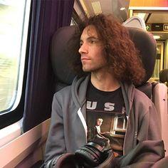 On the train to Edinburgh!
