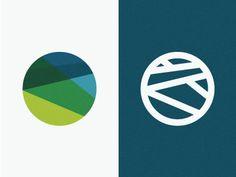 Branding Assets designed by Zach Graham. Logos, Logo Branding, Logo Mexicano, Round Logo Design, Dynamic Logo, City Logo, Online Logo, Affinity Designer, Geometric Logo