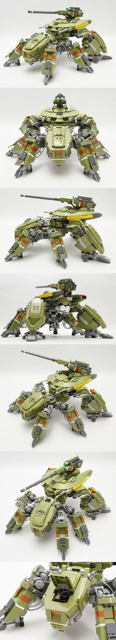 Lego mech. Feels so Ghost in the Shell - Shiro'esk design to me. Love it!