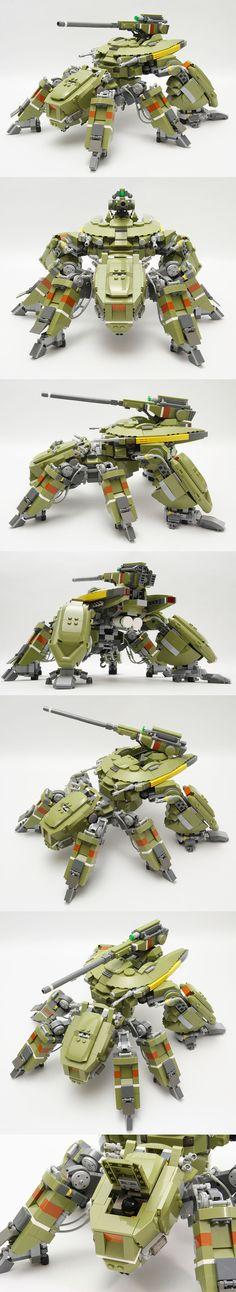 Lego mech.