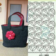 Free Crochet Bag, Crochet Purses, Knit Crochet, Crochet Bags, Knitted Bags, Crochet Accessories, Plastic Canvas, Straw Bag, Purses And Bags