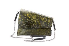 SALE 20 offBlack and yellow clutch Rrock bag Recycled by maykobags, $52.00