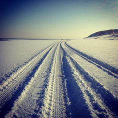 Vlieland in wintertime