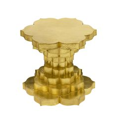 Viya Home - Hundred Petal Lotus Table from Stephanie Odegard Collection - Dering Hall (=)