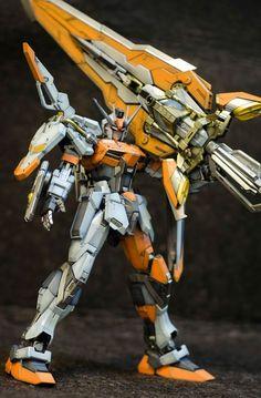 "GUNDAM GUY: GUNDAM GUY: READERS FEATURE GUNPLA BUILD - 1/100 MG Strike Gundam ""Marauder"" by Jose Cabaluna"