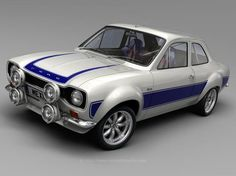Ford Escort Mexico - Mexico has cars that are not available in the US. Auto Retro, Retro Cars, Vintage Cars, Escort Mk1, Ford Escort, Ford Motor Company, Ford 2000, Automobile, Old Classic Cars
