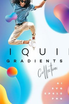 New vibrant gradient collection is here! This time in form of 36 energetic, colorful liquid droplets in different shapes. These dynamic gradients come in vector formats, SVG and PNG so you can easily choose what works best for your projects! Instagram Gradient, Identity Card Design, Illustrator Cs5, What Works, Beautiful Waterfalls, Vector Format, Vector Graphics, App Design, Photo Editing