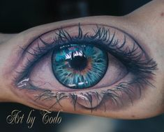 Images For > Realistic Eyeball Tattoo Designs