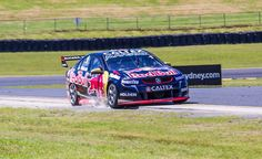 Jamie Whincup in the RedBull Racing Australia Holden. Taken by:- Dean B Riggins