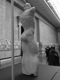 The Motya Charioteer - Greek circa 460 BC / seen here on view at the British Museum in 2012 It was unearthed in 1979 on the tiny island of Motya off the western coast of Sicily close to Marsala where...