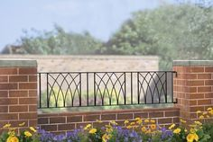 art deco railings | Verona Art Deco Style Metal Railings modern-