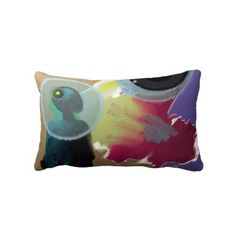 """One of my pillow design called """"Black Universe"""" avaliable on Zazzle for sale. $52.90"""