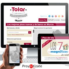 Inmobiliaria http://www.Tolar.es de Murcia posicionada a nivel provincial por http://www.proyectizate.com y http://www.araceligisbert.com