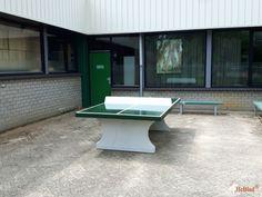 Pingpongtafel Groen bij Citaverde College Roermond in Roermond