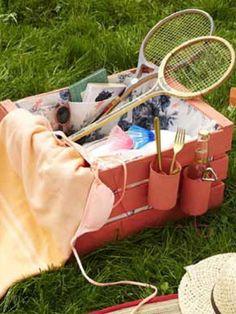 Grillparty: Accessoires Und Deko Zum Draußen-fest | Deko, Garten ... Picknick Im Gartenzelt Ideen Fur Gartenparty Mit Familie Und Freunden