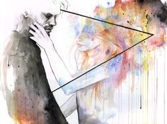 Two Different Lights / AGNES-CECILE